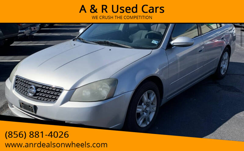 2006 Nissan Altima for sale at A & R Used Cars in Clayton NJ