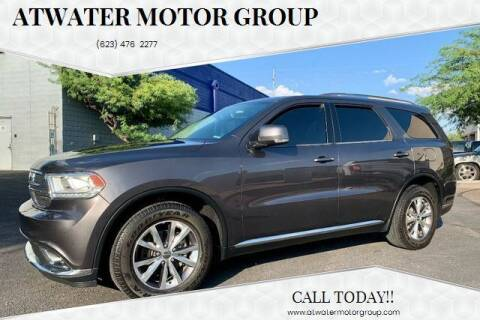 2016 Dodge Durango for sale at Atwater Motor Group in Phoenix AZ