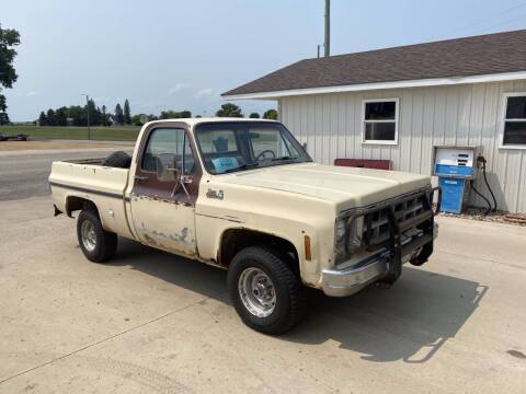 1978 GMC K1500  4x4 for sale at B & B Auto Sales in Brookings SD