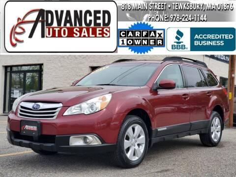 2011 Subaru Outback for sale at Advanced Auto Sales in Tewksbury MA