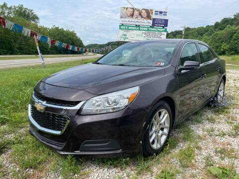 2015 Chevrolet Malibu for sale at Court House Cars, LLC in Chillicothe OH