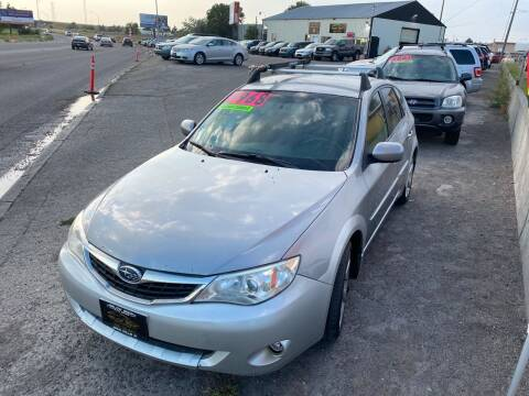 2009 Subaru Impreza for sale at BELOW BOOK AUTO SALES in Idaho Falls ID