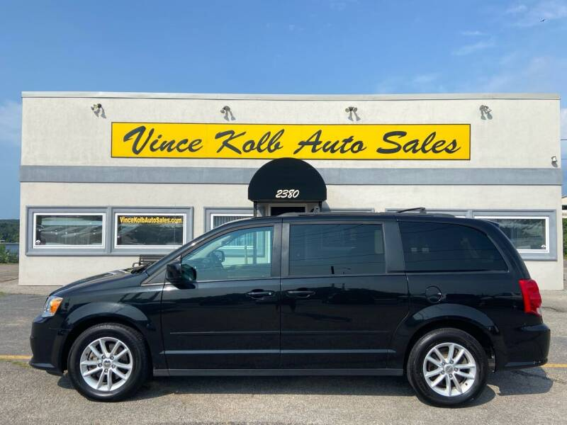 2016 Dodge Grand Caravan for sale at Vince Kolb Auto Sales in Lake Ozark MO