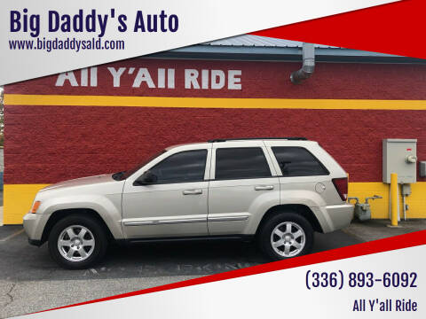 2010 Jeep Grand Cherokee for sale at Big Daddy's Auto in Winston-Salem NC