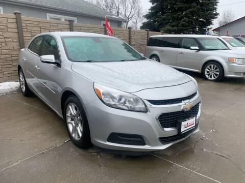 2015 Chevrolet Malibu for sale at Triangle Auto Sales in Omaha NE