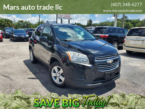 2015 Chevrolet Trax for sale at Mars auto trade llc in Kissimmee FL