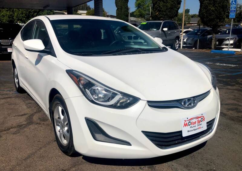 2014 Hyundai Elantra for sale at MotorSport Auto Sales in San Diego CA