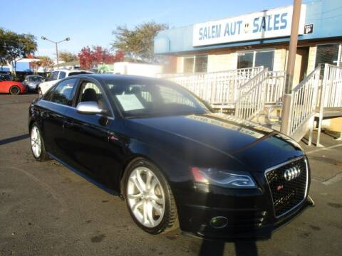 2012 Audi S4 for sale at Salem Auto Sales in Sacramento CA