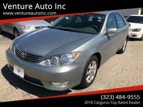 2005 Toyota Camry for sale at Venture Auto Inc in South Gate CA