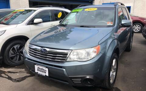 2009 Subaru Forester for sale at DEALS ON WHEELS in Newark NJ