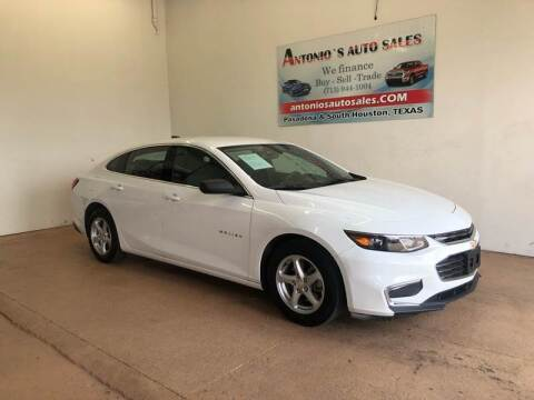 2017 Chevrolet Malibu for sale at Antonio's Auto Sales - Antonio`s  3001 in Pasadena TX