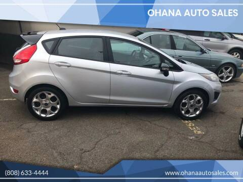 2012 Ford Fiesta for sale at Ohana Auto Sales in Wailuku HI