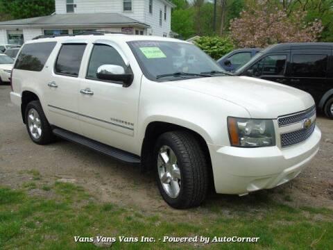 2011 Chevrolet Suburban for sale at Vans Vans Vans INC in Blauvelt NY