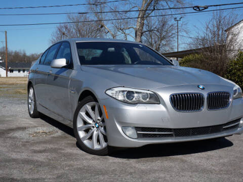 2012 BMW 5 Series for sale at Auto Mart in Kannapolis NC