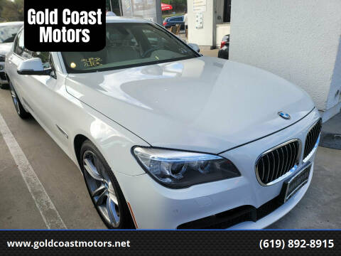 2014 BMW 7 Series for sale at Gold Coast Motors in Lemon Grove CA