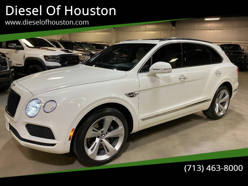 2019 Bentley Bentayga for sale at Diesel Of Houston in Houston TX