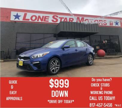 2019 Kia Forte for sale at LONE STAR MOTORS II in Fort Worth TX