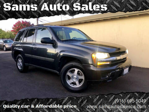 2005 Chevrolet TrailBlazer for sale at Sams Auto Sales in North Highlands CA