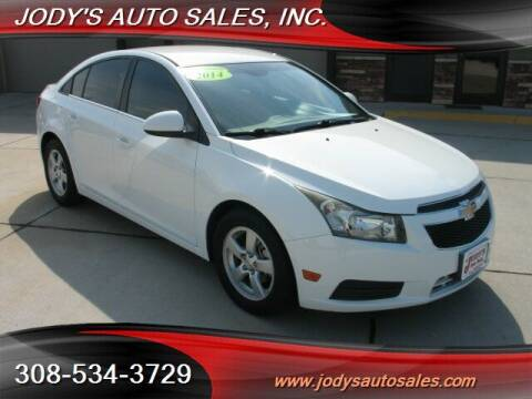 2014 Chevrolet Cruze for sale at Jody's Auto Sales in North Platte NE