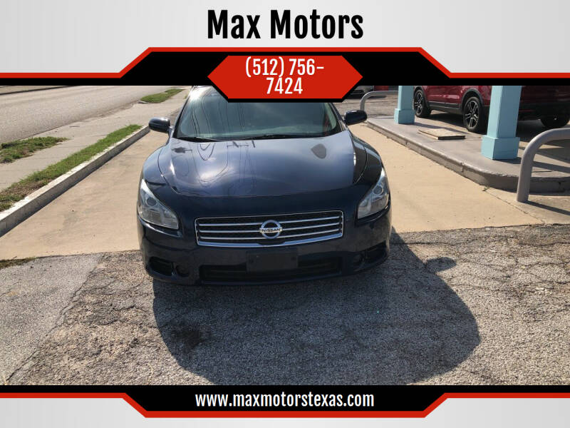 2011 Nissan Maxima for sale at Max Motors in Corpus Christi TX