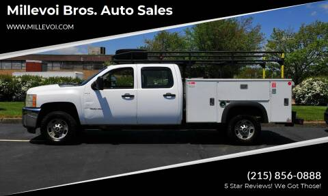 2011 Chevrolet Silverado 2500HD for sale at Millevoi Bros. Auto Sales in Philadelphia PA