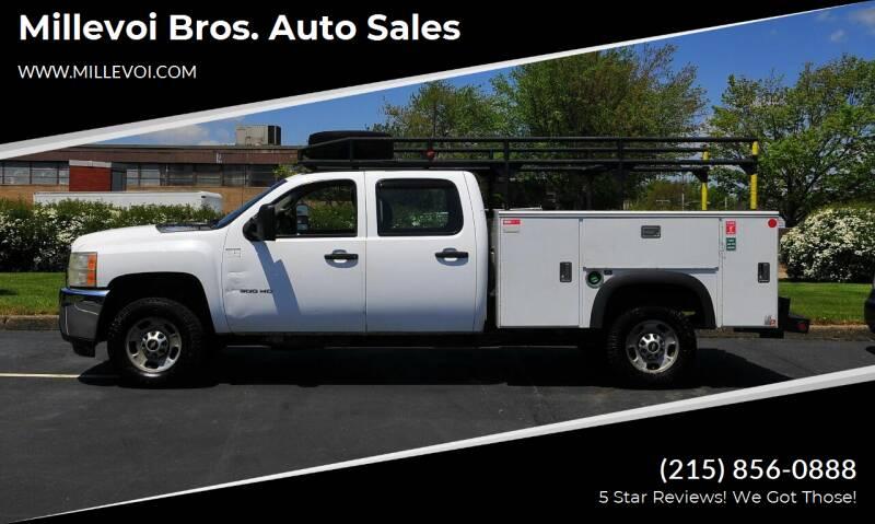 2011 Chevrolet Silverado 2500HD for sale at Millevoi Bros. Auto Sales in Philadelphia PA