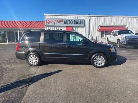 2014 Chrysler Town and Country for sale at Van Dam Auto Sales Inc. in Holland MI