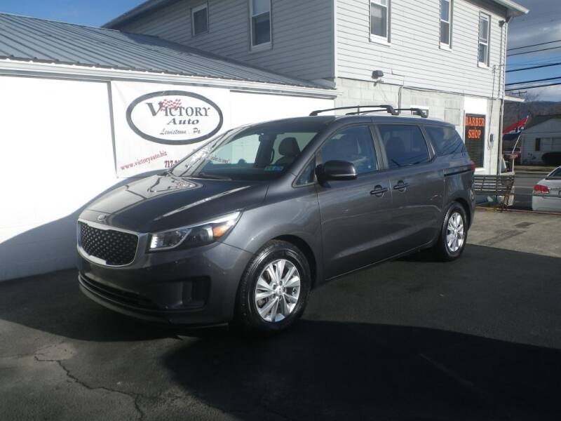 2015 Kia Sedona for sale at VICTORY AUTO in Lewistown PA