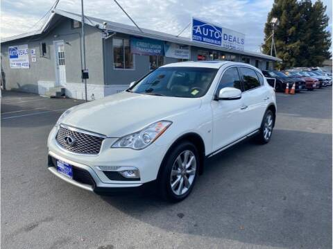 2017 Infiniti QX50 for sale at AutoDeals in Daly City CA
