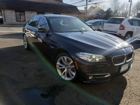 2014 BMW 5 Series for sale at DNS Automotive Inc. in Bergenfield NJ