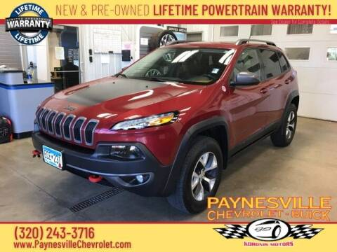 2014 Jeep Cherokee for sale at Paynesville Chevrolet Buick in Paynesville MN