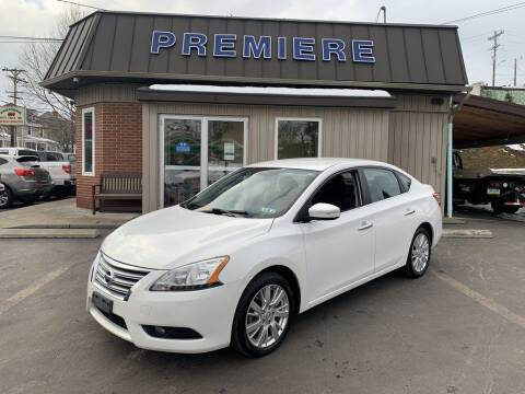 2013 Nissan Sentra for sale at Premiere Auto Sales in Washington PA