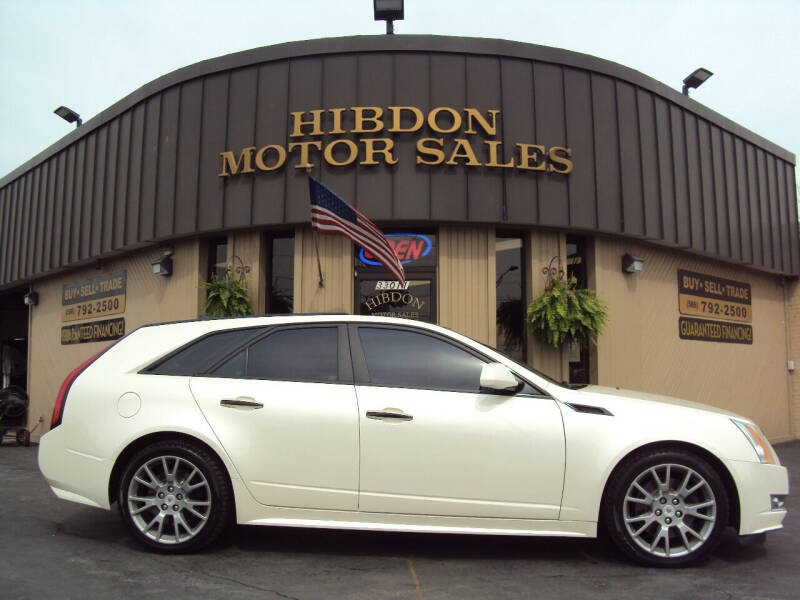 2014 Cadillac CTS for sale at Hibdon Motor Sales in Clinton Township MI