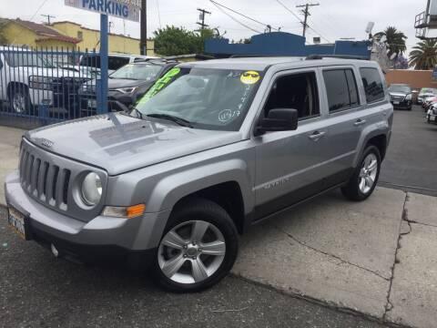 2017 Jeep Patriot for sale at 2955 FIRESTONE BLVD in South Gate CA