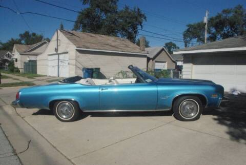 1975 Oldsmobile Delta Eighty-Eight for sale at Classic Car Deals in Cadillac MI