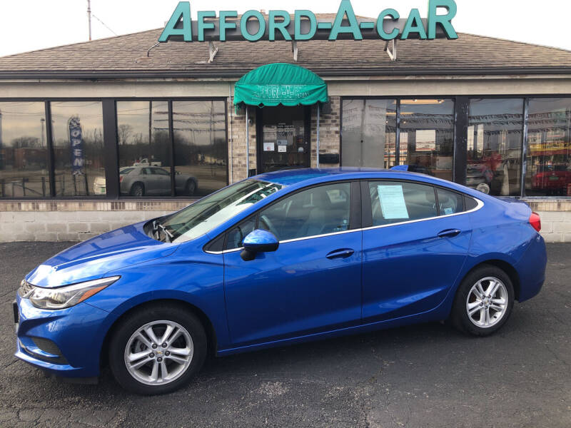 2017 Chevrolet Cruze for sale at Afford-A-Car in Moraine OH