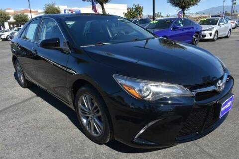 2017 Toyota Camry for sale at DIAMOND VALLEY HONDA in Hemet CA