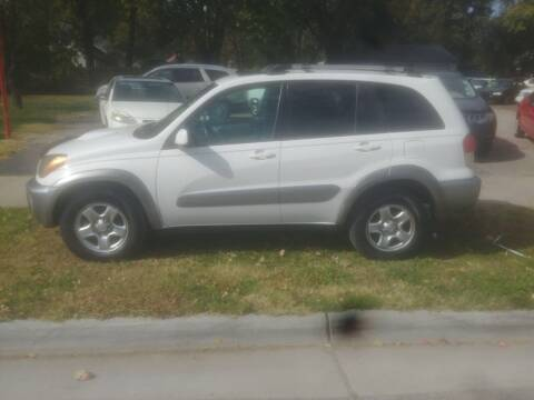2003 Toyota RAV4 for sale at D & D Auto Sales in Topeka KS