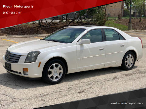 2003 Cadillac CTS for sale at Klean Motorsports in Skokie IL