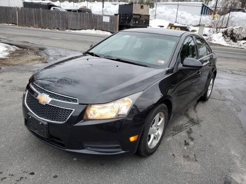 2011 Chevrolet Cruze for sale at MX Motors LLC in Ashland MA