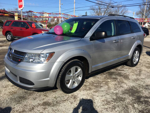 2013 Dodge Journey for sale at Antique Motors in Plymouth IN
