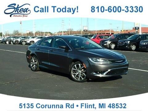 2015 Chrysler 200 for sale at Jamie Sells Cars 810 in Flint MI