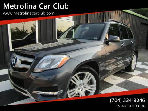 2013 Mercedes-Benz GLK for sale at Metrolina Car Club in Matthews NC