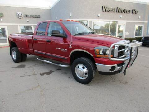 2006 Dodge Ram Pickup 3500 for sale at West Motor Company in Preston ID