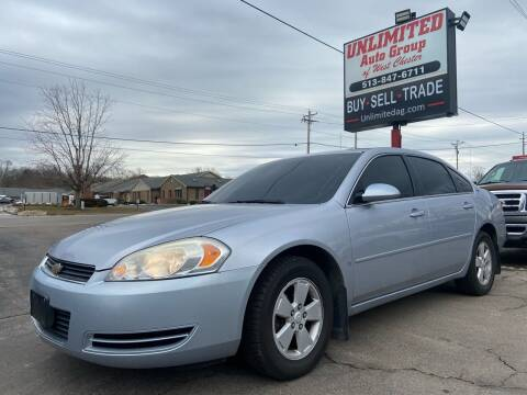 2006 Chevrolet Impala for sale at Unlimited Auto Group in West Chester OH