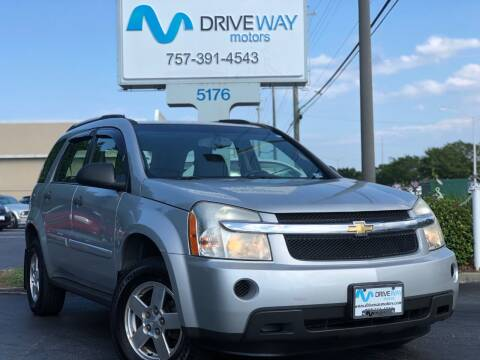 2009 Chevrolet Equinox for sale at Driveway Motors in Virginia Beach VA