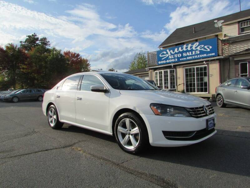 2013 Volkswagen Passat for sale at Shuttles Auto Sales LLC in Hooksett NH