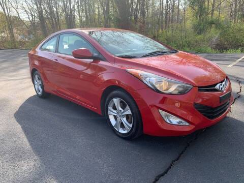 2013 Hyundai Elantra Coupe for sale at Volpe Preowned in North Branford CT