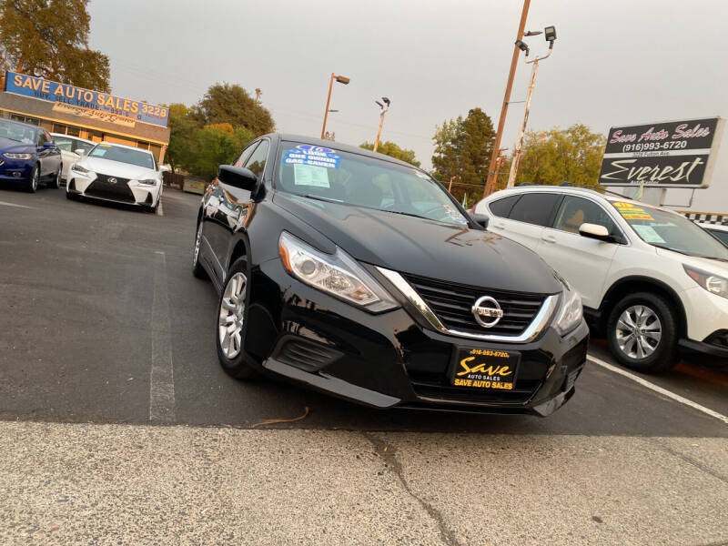 2016 Nissan Altima for sale at Save Auto Sales in Sacramento CA
