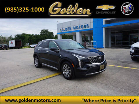 2019 Cadillac XT4 for sale at GOLDEN MOTORS in Cut Off LA